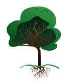 Ecology design. Over white background, vector illustration Stock Images