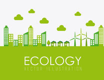 Ecology design Stock Photo