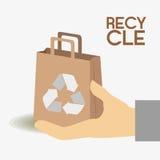 Ecology design, vector illustration. Royalty Free Stock Photo