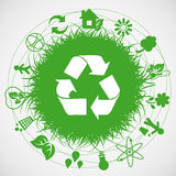 Ecology earth stock illustration