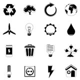 Ecology and energy icon Stock Photo