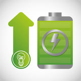 ecology and energy saving care image Stock Images