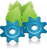 Ecology energy symbol Stock Photo