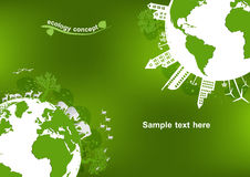Ecology,Environment concept for heath the Earth.  Royalty Free Stock Photo