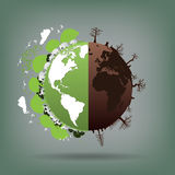 Ecology,Environment concept for heath the Earth.  Royalty Free Stock Image