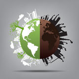 Ecology,Environment concept for heath the Earth.  Stock Images