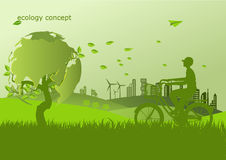 Ecology,Environment concept for heath the Earth.  Stock Photography