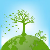 Ecology,Environment concept for heath the Earth.  Royalty Free Stock Photography