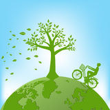 Ecology,Environment concept for heath the Earth.  Royalty Free Stock Images