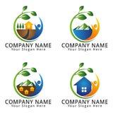 Ecology Environment Concept Logo Royalty Free Stock Photos