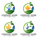 Ecology Environment Concept Logo Royalty Free Stock Image