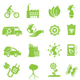 Ecology and environment icons royalty free illustration