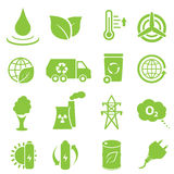 Ecology and environment icons vector illustration