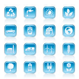 Ecology and environment icons Stock Photo