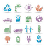 Ecology and environment objects Royalty Free Stock Photo