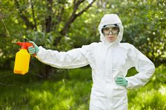 Ecology and environmental pollution.   Stock Photography