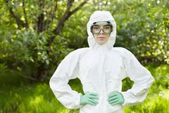 Ecology and environmental pollution. Royalty Free Stock Image