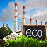 Ecology and environmental pollution Stock Photography