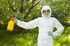 Ecology and environmental pollution.  Royalty Free Stock Photography