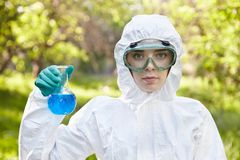 Ecology and environmental pollution.   Stock Image