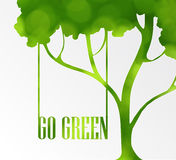 Ecology friendly icon Stock Photography