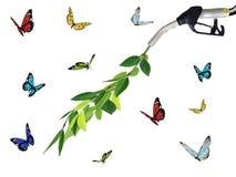 Ecology fuel background Stock Images