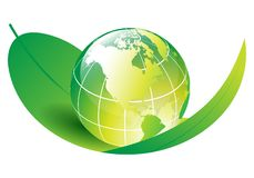 Ecology globe Stock Images