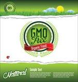 Ecology GMO free background Royalty Free Stock Image