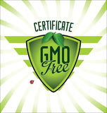 Ecology GMO free background Royalty Free Stock Images