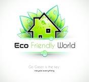 Ecology green background Stock Photo