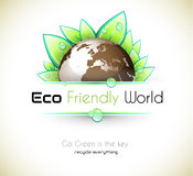 Ecology green background Stock Photography