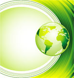 Ecology Green Background royalty free stock images