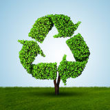 Ecology and green environment concept - 3D rendering Stock Photos