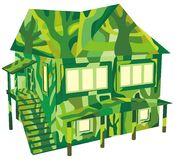Ecology green house Royalty Free Stock Photos