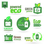 Ecology - Green - Renewable  icon set Stock Image
