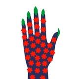 Ecologic hand Royalty Free Stock Image