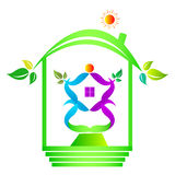 Ecology home Royalty Free Stock Photos