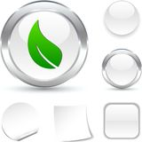 Ecology  icon. Royalty Free Stock Photos
