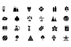 Ecology  icon 3 Royalty Free Stock Image