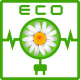 Ecology icon Royalty Free Stock Photo