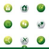 Ecology icon series Royalty Free Stock Photo