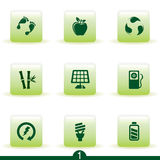 Ecology icon series Royalty Free Stock Image