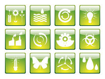 Ecology icon set 2 Stock Photography