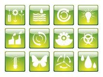 Ecology icon set 2 Stock Photography