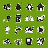 Ecology icon Stock Photo