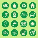 Ecology icon Stock Photos