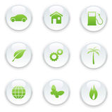Ecology icon set Stock Images