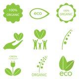 Ecology icon set. Royalty Free Stock Photography