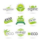 Ecology icon set. Eco-icons Stock Photo