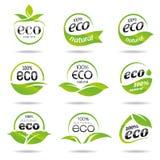 Ecology, icon set. Eco-icons Stock Photography